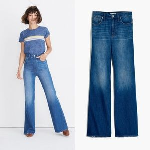 """Madewell 11"""" High-Rise Flare jeans"""